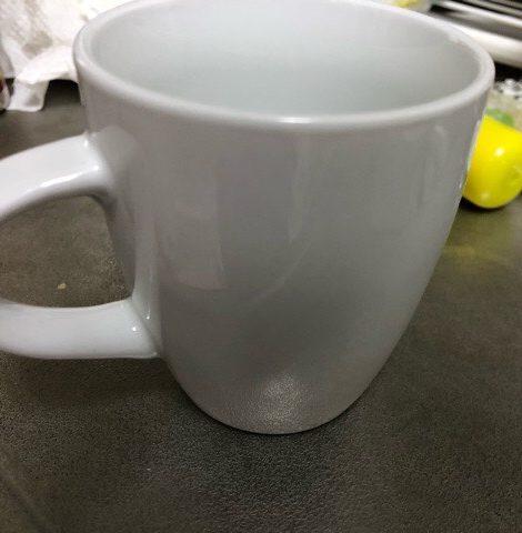 茶渋が取れたコップ